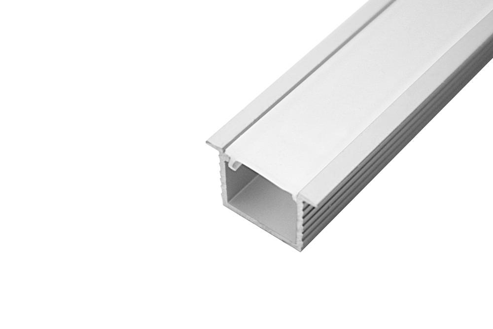 LED profilis įleidžiamas L-4 ALIUMINIS