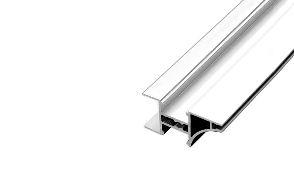 LED profilis L-8 ALIUMINIS