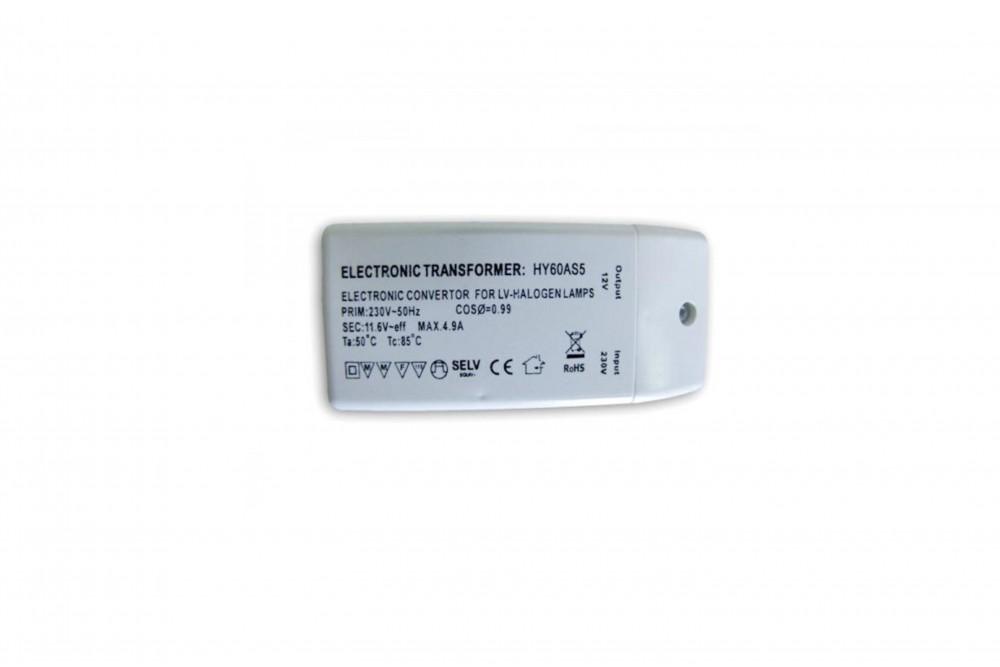 Transformatorius halogeninėms šviestuvams 60W