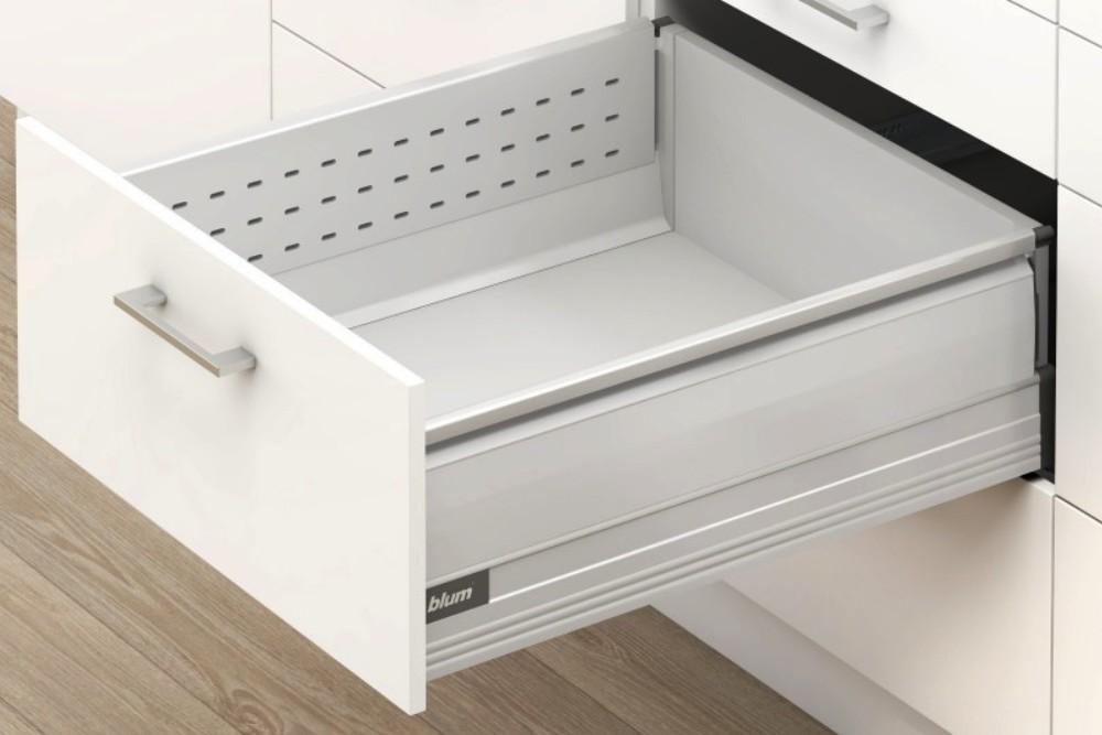 TANDEMBOX plus D+BOXSIDE stalčiaus komplektas 600mm PILKAS