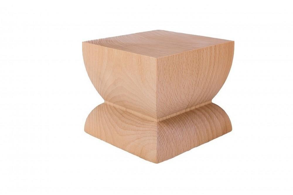 Baldų kojelė medinė ART.10