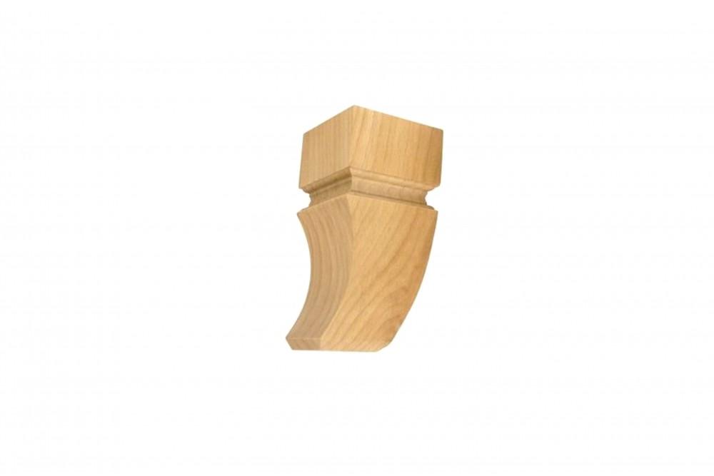 Baldų kojelė medinė ART.990003