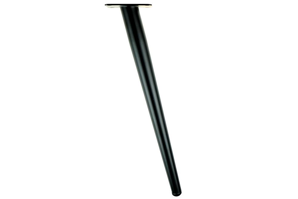 Stalo koja pasvirusi metalinė H-450mm JUODA