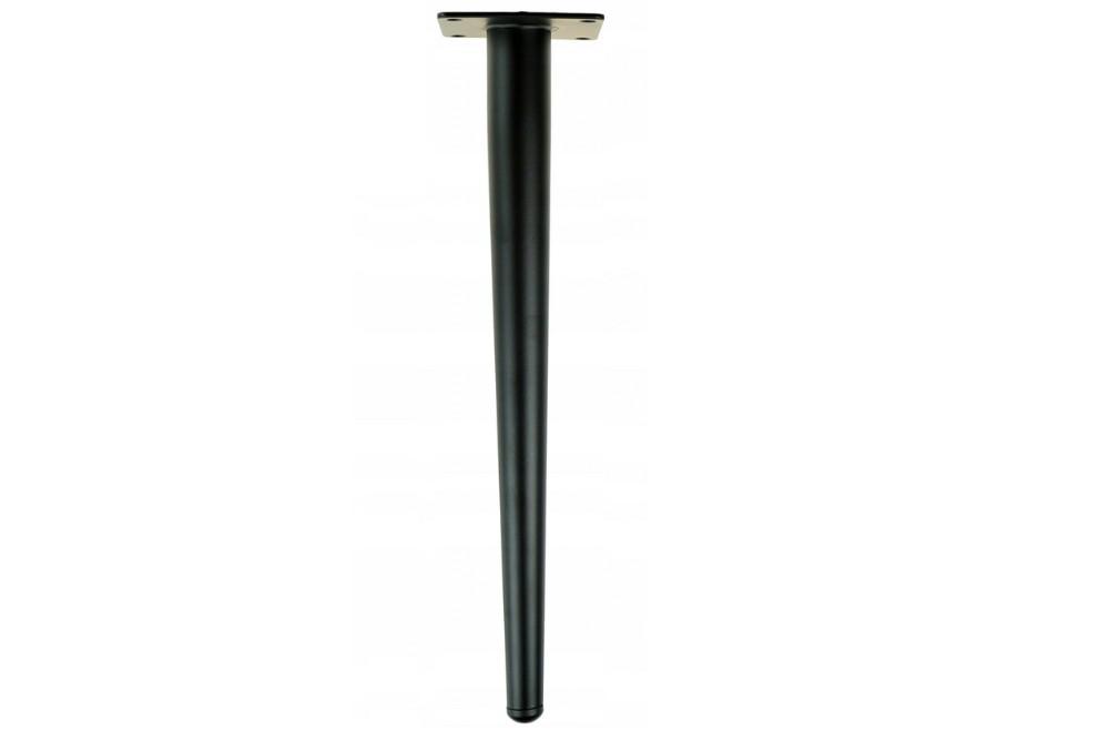 Stalo koja tiesi metalinė H-450mm JUODA