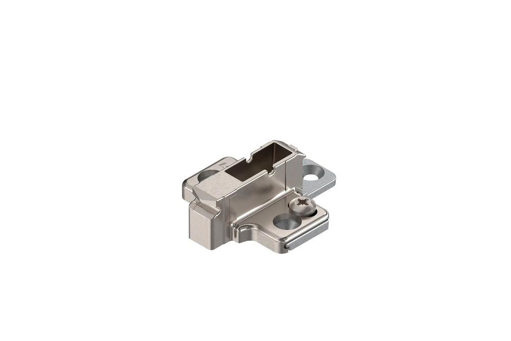 CLIP lanksto plokštelė, 9 mm su eksc. reg. dviejų dalių