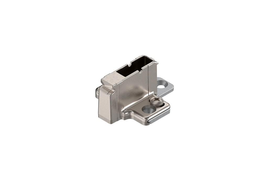 CLIP lanksto plokštelė, 18 mm su eksc. reg. dviejų dalių