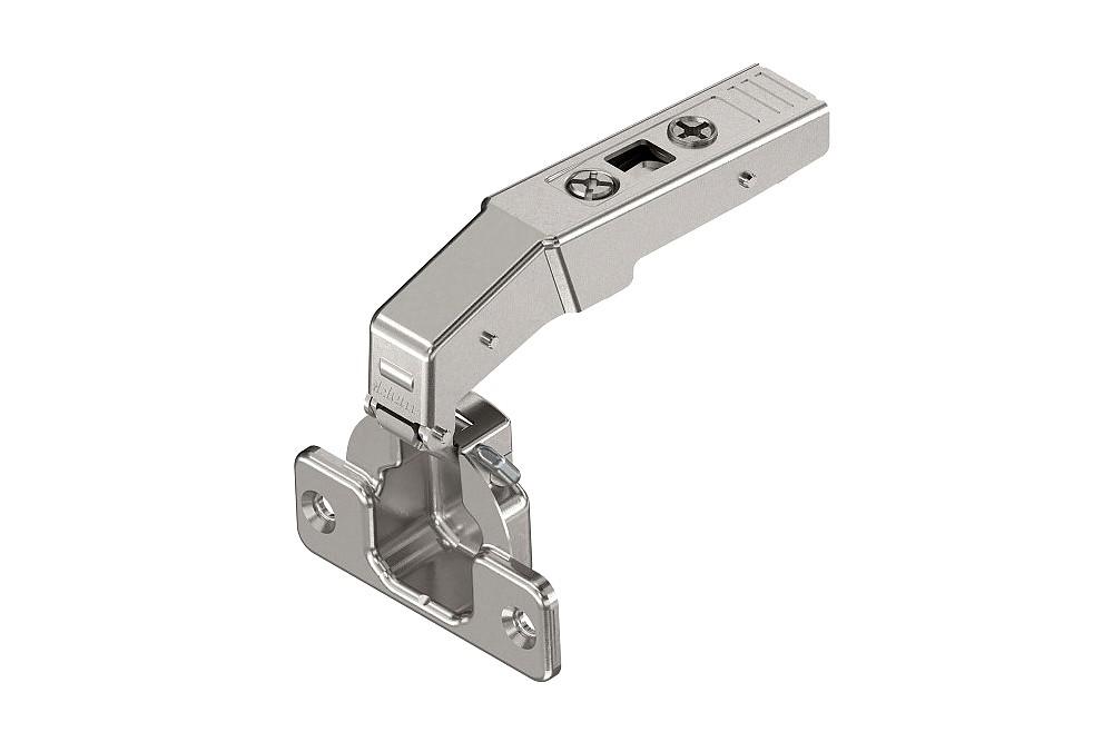CLIP lankstas 90° vienos plokštumos, be spyruoklės