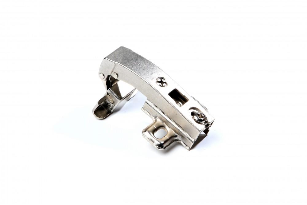 Lankstas aliuminio profiliui kampinis 90° su H0 plokštele