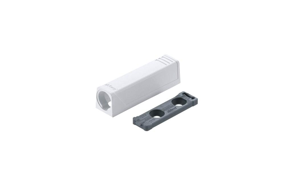 TIP-ON durelių atmetiklio adapteris, trumpas, baltos spalvos