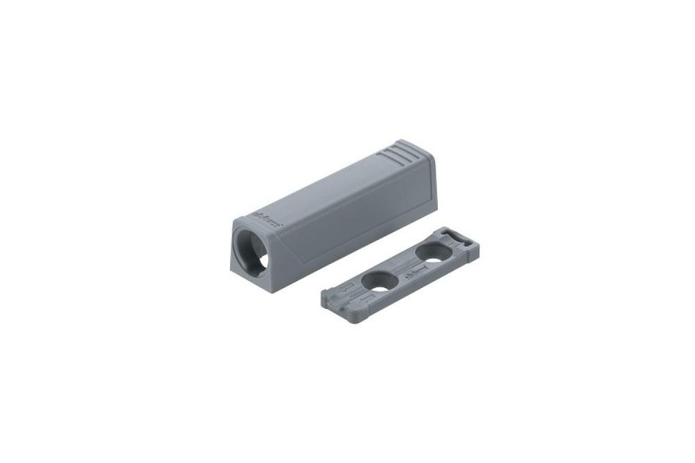 TIP-ON durelių standartinio atmetiklio adapteris, trumpas, pilkos spalvos