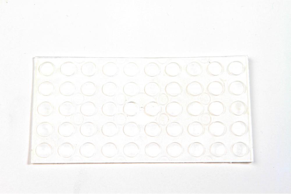 Amortizatorius klijuojamas 7x1.5mm (50 vnt.)