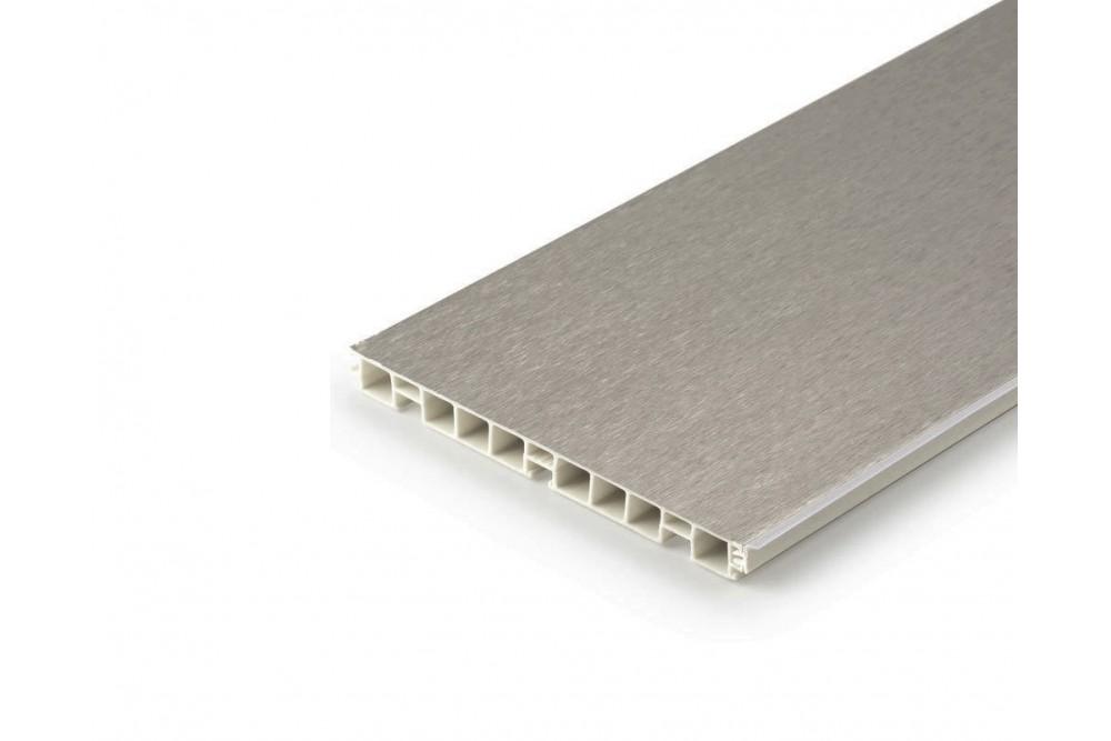 Baldinis plintusas H-100 4.0m INOX