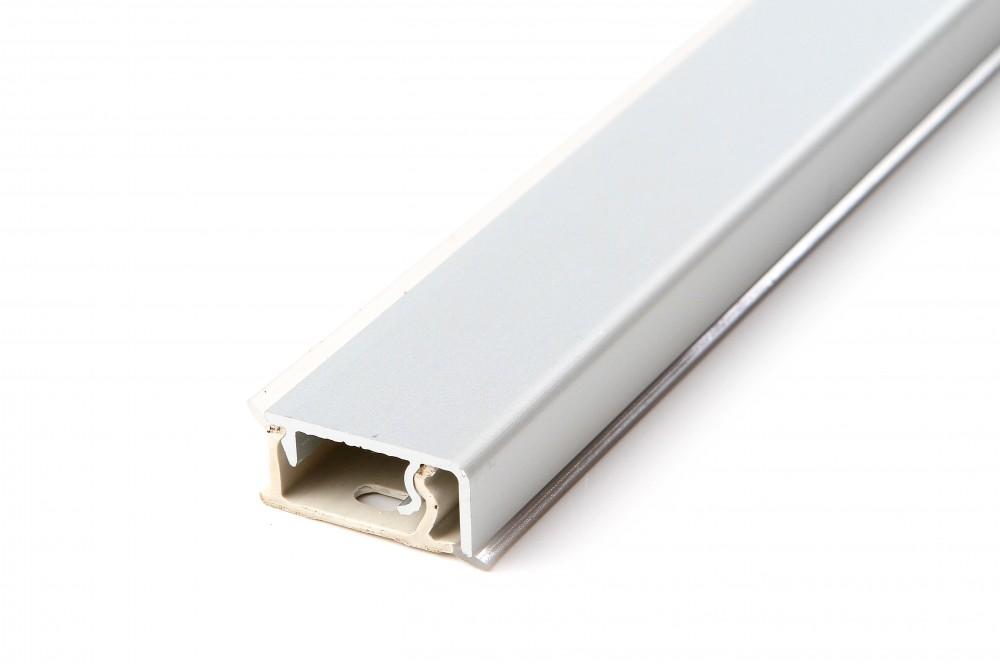 Staljuostė aliuminio stačiakampė 4.2m AL