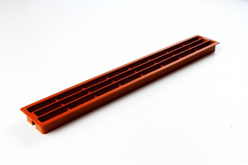 Ventiliacinės grotelės PLAST 64x453mm KALVADOS