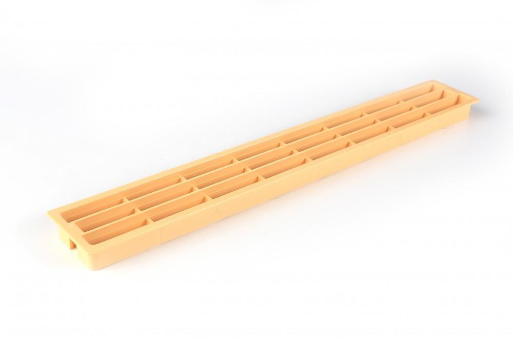 Ventiliacinės grotelės PLAST 64x453mm BUKINĖS